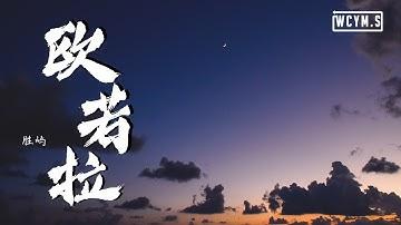 胜屿 - 欧若拉 (翻自 张韶涵 Angela Zhang)【动态歌词/Lyrics Video】