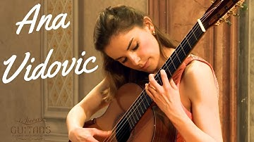 Ana Vidovic plays Asturias by Isaac Albéniz on a Jim Redgate classical guitar
